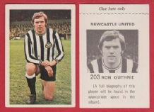Newcastle United Ron Guthrie